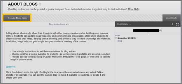 Blogs | The American College of Greece – Blackboard