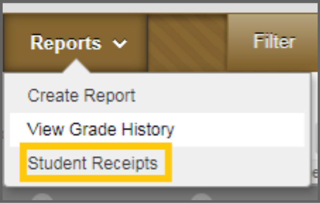 reports grade center border