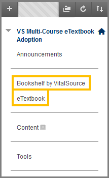 Bookshelf by Vitalsource