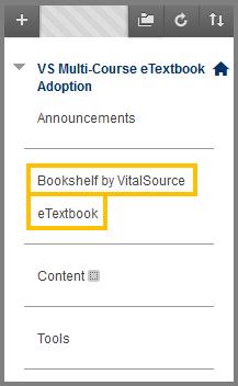 e-book menu