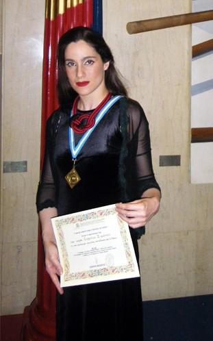 Eva Simatou ACGs Eva Simatou wins UNESCO prize place at RADA Toucbase13
