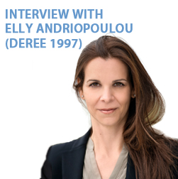 INTERVIEW WITH ELLY ANDRIOPOULOU (DEREE 1997)