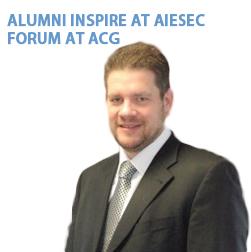 ALUMNI INSPIRE AT AIESEC FORUM AT ACG