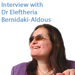 Interview with Dr Eleftheria Bernidaki-Aldous (PIERCE '70)