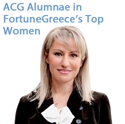 ACG Alumnae in FortuneGreece's Top Women