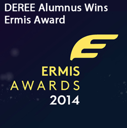 DEREE Alumnus Wins Ermis Award
