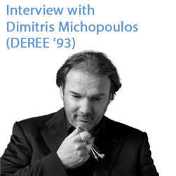 Interview with Dimitris Michopoulos (DEREE '93) Managing Director at Weber Shandwick