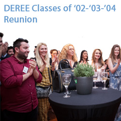 DEREE Classes of '02-'03-'04 Reunion