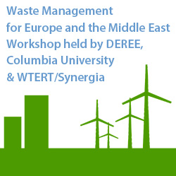 Waste Management Workshop held by DEREE, Columbia University & WTERT/Synergia