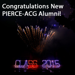 Congratulations New PIERCE Alumni!