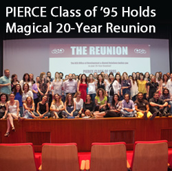 PIERCE Class of '95 Holds Magical 20-Year Reunion