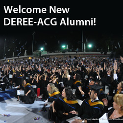 Welcome New DEREEE-ACG Alumni!