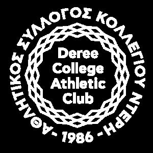 Deree College Athletic Club_logo_white