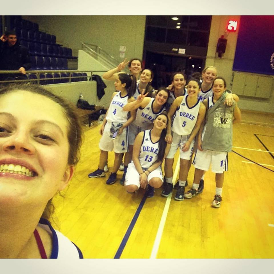 Women's Basketball – Deree vs AOK Anagennisi Gram (47-44)