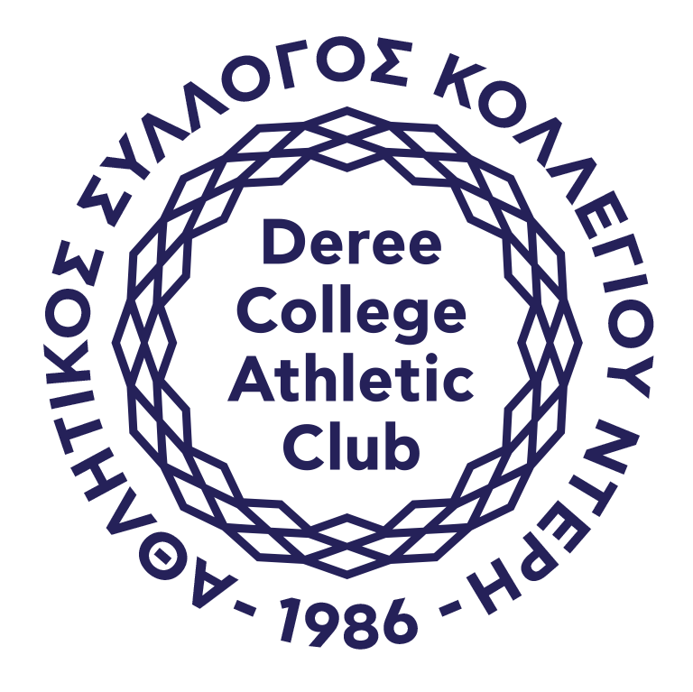 Deree College Athletic Club_logo_white