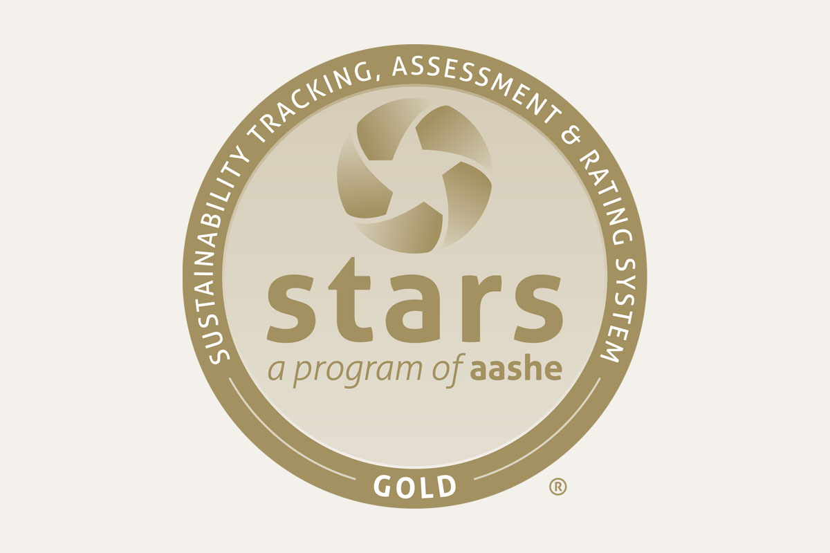 STARS Gold Association for the Advancement for Sustainability in Higher Education (AASHE)