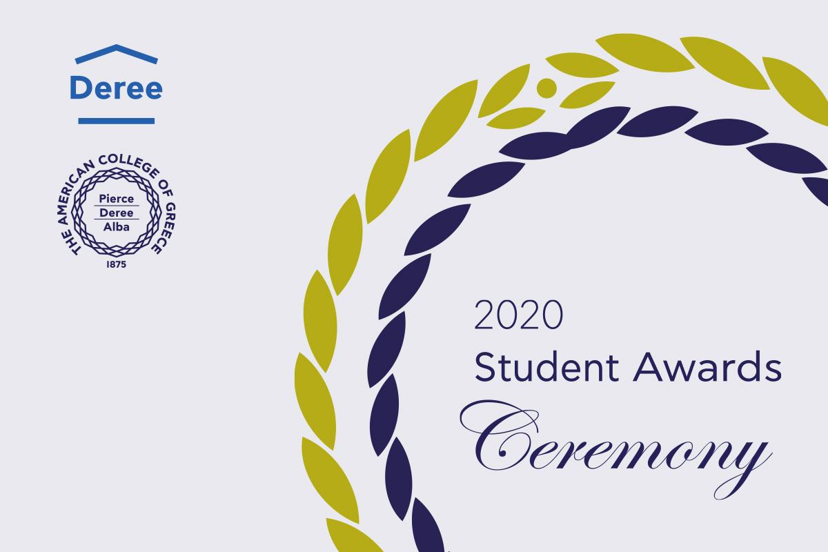 Deree Student Awards Ceremony 2020