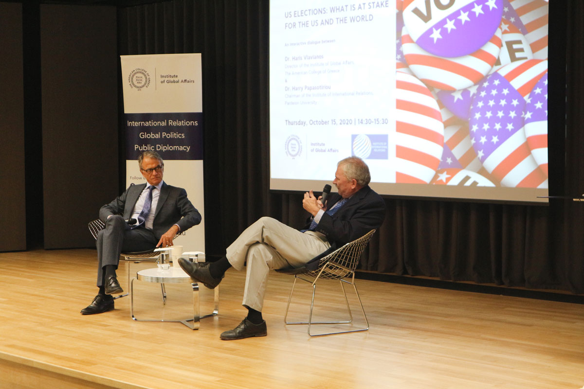 Dr. Haris Vlavianos and Dr. Harry Papasotiriou