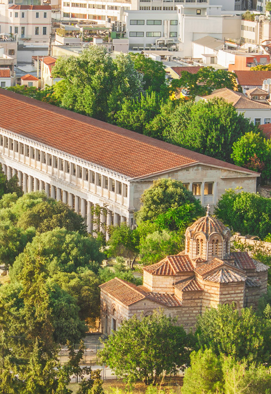 Ancient Agora of Athens Greece