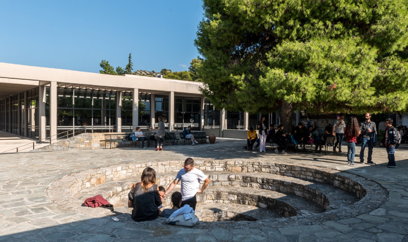 students at The American College of Greece
